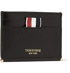 Thom Browne Textured-Leather Cardholder