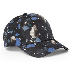 Acne Studios Calis Printed-Satin Baseball Cap