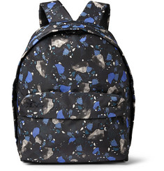 Acne Studios Olov Printed-Satin Backpack