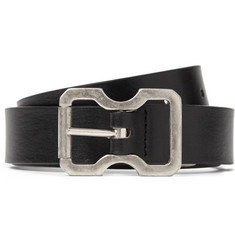 Maison Martin Margiela Black 2.5cm Leather Belt