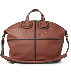 Givenchy Nightingale Star-Embossed Textured-Leather Holdall