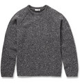 Valentino - Bonded Flecked Knitted-Wool Sweater