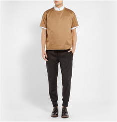 Valentino Boxy-Fit Double-Layered Cotton-Jersey T-Shirt