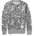Thom Browne - Leaf-Print Cotton-Jersey Sweatshirt