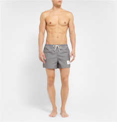 Thom Browne Short-Length Herringbone-Print Swim Shorts
