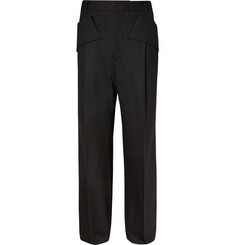 Givenchy Wide-Leg Wool-Blend Trousers