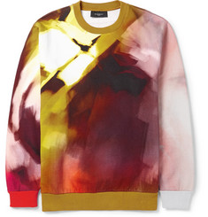 Givenchy Abstract-Print Cotton Sweatshirt