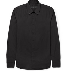 Givenchy Metal-Trimmed Cotton Shirt