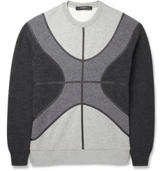 Givenchy Mélange-Knit Wool and Cotton-Blend Sweatshirt