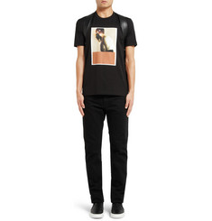 Givenchy Cuban-Fit Abstract Basketball-Print T-Shirt