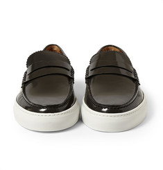 Givenchy Leather Loafers with Stud Detailing