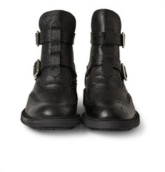 Givenchy Double-Strap Leather Boots