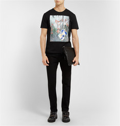 Raf Simons Sterling Ruby Printed Cotton-Jersey T-Shirt