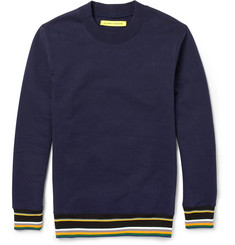 Raf Simons Sterling Ruby Fleece-Back Cotton-Jersey Sweatshirt