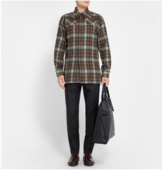 Raf Simons Sterling Ruby Check Cotton Shirt