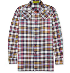 Raf Simons Sterling Ruby Cotton Check Shirt