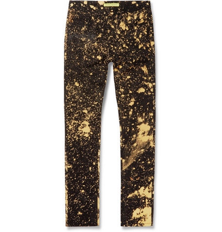 Raf Simons Sterling Ruby Bleached Slim-Fit Denim Jeans