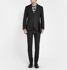 Raf Simons Slim-Fit Deconstructed Wool Blazer