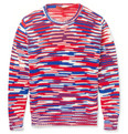 Raf Simons - Sterling Ruby Striped Crew Neck Sweater