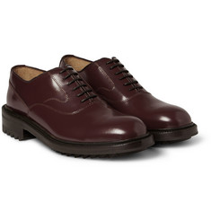 Valentino High-Shine Leather Derby Shoes