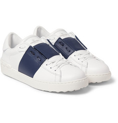 Valentino Leather Low Top Sneakers