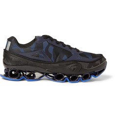 Raf Simons Adidas Bounce Camouflage-Patterned Canvas Sneakers