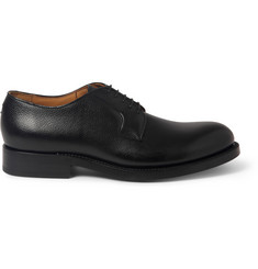 Raf Simons Pebble-Grain Leather Derby Shoes