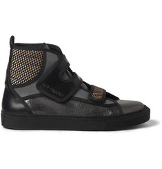 Raf Simons Panelled High-Top Sneakers