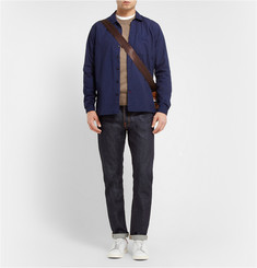 A.P.C. Knitted-Wool Crew Neck Sweater