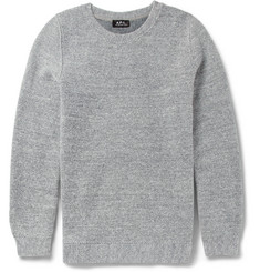 A.P.C. Woven Wool-Blend Sweater