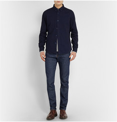 A.P.C. Indigo-Dyed Lightweight-Denim Shirt