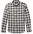 A.P.C. - Cotton and Silk-Blend Flannel Shirt
