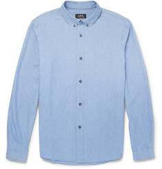 A.P.C. Lightweight Chambray Shirt