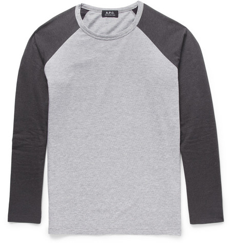 A.P.C. Raglan-Sleeved Cotton-Jersey T-Shirt