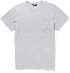 A.P.C. Striped Cotton-Jersey Crew Neck T-Shirt