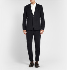 Acne Studios Black Sam Slim-Fit Moleskin Suit Trousers