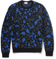Acne Studios Mayer O Patterned Merino Wool Sweater