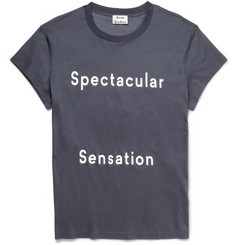 Acne Studios Printed Fine Cotton-Jersey T-Shirt