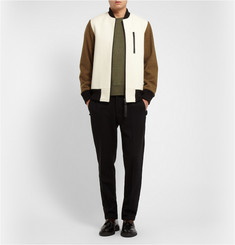 Acne Studios College Lightweight Loopback Cotton-Jersey Sweatshirt
