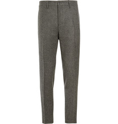 Acne Studios Grey Stan T Slim-Fit Wool-Blend Tweed Suit Trousers