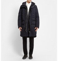 Acne Studios Montreal Double-Layered Quilted Hooded Parka