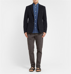 Acne Studios Isherwood Button-Down Collar Denim Shirt