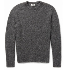 Acne Studios Chet Donegal Merino Wool-Blend Sweater