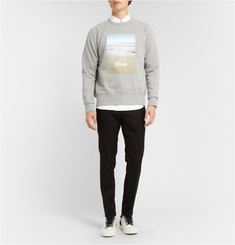 Acne Studios Printed Cotton-Jersey Sweatshirt