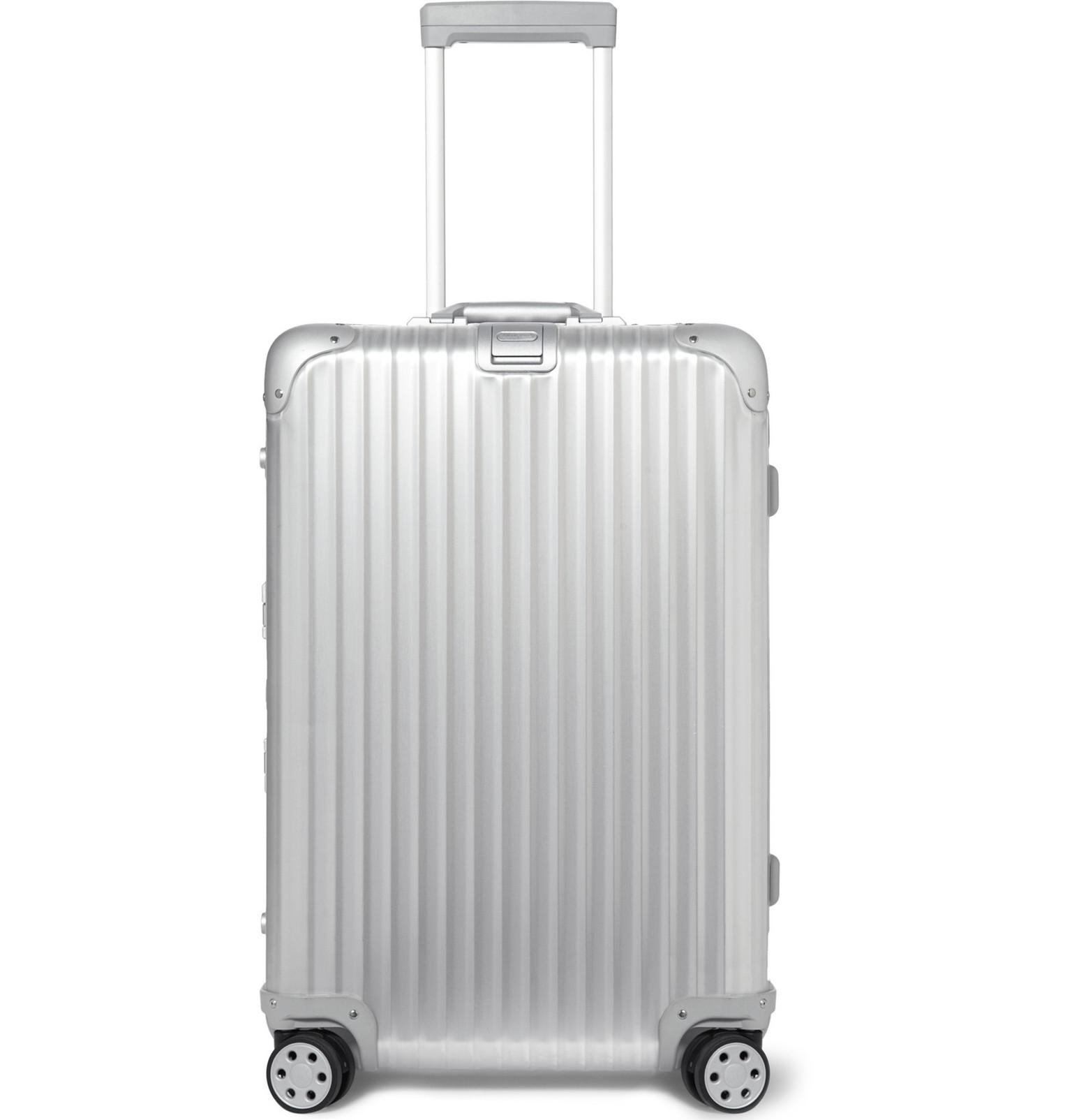 Rimowa - Topas Stealth Aluminium Multiwheel 78cm Suitcase