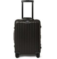 Rimowa Topas Stealth Cabin Aluminum 55cm Carry-On Case