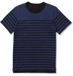 Sacai Double-Faced Cotton-Jersey T-Shirt