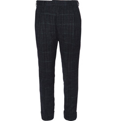 Sacai Slim-Fit Checked Woven Suit Trousers