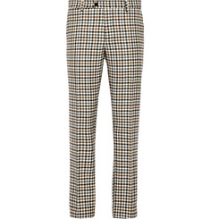 Etro Slim-Fit Check Wool Trousers