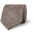 Etro Check Silk and Wool-Blend Tie